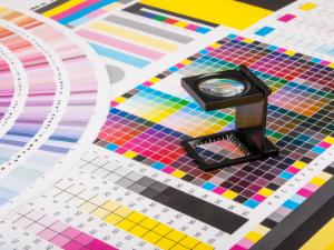 Carrollton Commercial Printing collor pallet graphic design cn